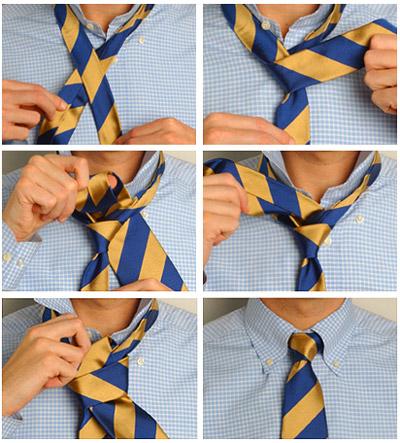 Как завязать галстук пошагово? (фото основных способов)
