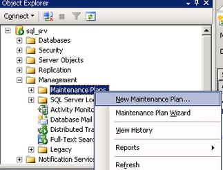 Регламентные операции на уровне субд для MS SQL Server, Оптимизация работы