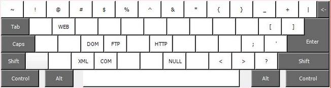Специальная раскладка клавиатуры для программистов 1С
