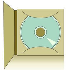 Как из листа А4 быстро сделать конверт для диска